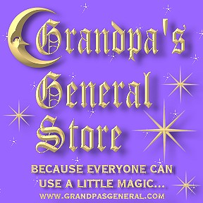 Grandpa's Occult And Metaphysical-A Pagan Playground-Because Everyone Can Use a Little Magic...