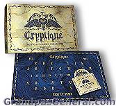 Psychic & Divination Tools For Sale-Criptique Talking Board-This would make a fine gift for anyone interested in the spiritual side of life. Spirit boards, witchboards, magic boards, & mystery boards are all guises of the talking board, used for divination or as a game. Though countless theories have emerged to explain how & why talking boards work, they remain cloaked in a shroud of mystery to this day. Occult Gifts for sale and Metaphysical Supplies-Ouija Type Boards for divination.